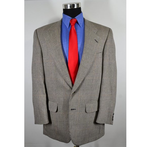 Burberry Other - Burberrys 40R Sport Coat Blazer Suit Jacket Gray B